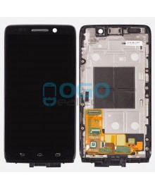 LCD & Digitizer Touch Screen Assembly With Frame replacement for Motorola Droid Mini XT1030 - Black