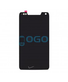 LCD & Digitizer Touch Screen Assembly Replacement with V logo for Motorola Droid Razr M XT907 - Black