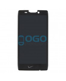 LCD & Digitizer Touch Screen Assembly Replacement with V logo for Motorola Droid RAZR HD XT926 XT925 - Black