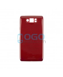 Battery Door/Back Cover Replacement for Motorola Droid Ultra XT1080 - Red
