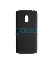Battery Door/Back Cover Replacement for Motorola Moto G4 Play - Black