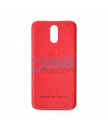 Battery Door/Back Cover Replacement for Motorola Moto G4 Plus - Red