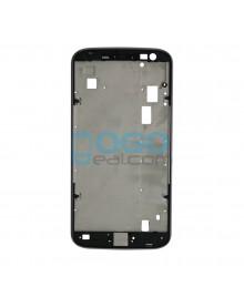 Front Housing Bezel Replacement for Motorola Moto G4 - Black