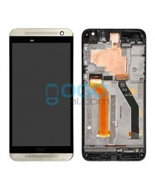 LCD & Digitizer Touch Screen Assembly With Frame replacement for HTC One E9 - Gold
