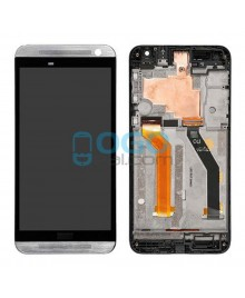 LCD & Digitizer Touch Screen Assembly With Frame replacement for HTC One E9 - Silver