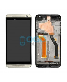 LCD & Digitizer Touch Screen Assembly With Frame replacement for HTC One E9+ - Gold