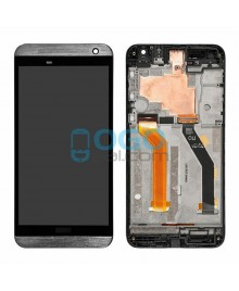 LCD & Digitizer Touch Screen Assembly With Frame replacement for HTC One E9+ - Gray