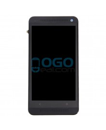 LCD & Digitizer Touch Screen Assembly With Frame replacement for HTC One M7 - Black