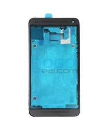 Front Housing Bezel Replacement for HTC One M7 - Black
