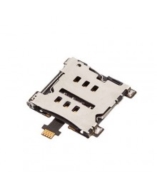 SIM SD Card Reader Connector Replacement for HTC One M7