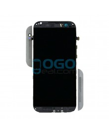 LCD & Digitizer Touch Screen Assembly With Frame replacement for HTC One M8 - Gray