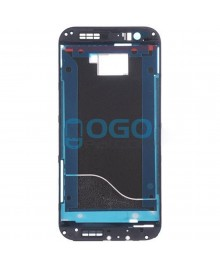 Front Housing Bezel Replacement for HTC One M8 - Black