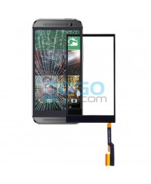 Digitizer Touch Glass Panel Replacement for HTC One M8 Black