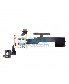 Volume Button Flex Cable with SIM Card Reader Replacement for HTC One M8