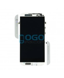 LCD & Digitizer Touch Screen Assembly With Frame replacement for HTC One M8s - Silver