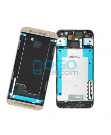 Front Housing Bezel Replacement for HTC One M9 - Gold