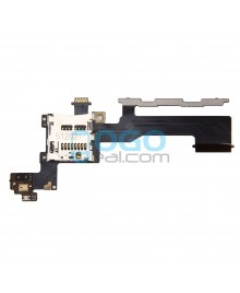 Power Button Flex Cable with SIM Card Reader Replacement for HTC One M9