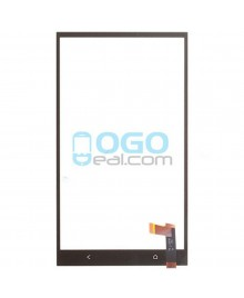 Digitizer Touch Glass Panel Replacement for HTC One Max Black