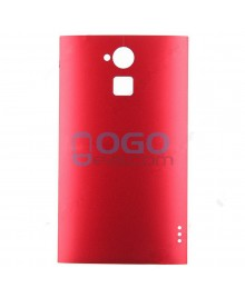 Battery Door/Back Cover Replacement for HTC One Max - Red