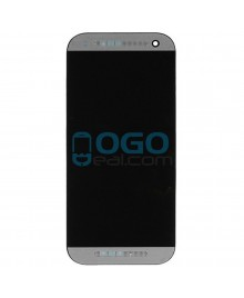 LCD & Digitizer Touch Screen Assembly With Frame replacement for HTC One Mini 2 - Gray