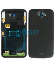 Battery Door/Back Cover Replacement for HTC One X - Black