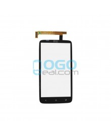 Digitizer Touch Glass Panel Replacement for HTC One X Plus Black