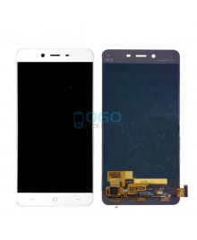 OEM LCD & Digitizer Touch Screen Assembly Replacement for OnePlus X - White