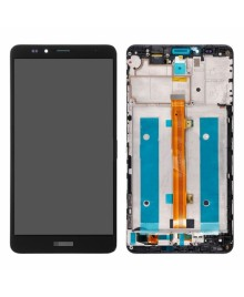 For Huawei Ascend Mate 7 LCD & Touch Screen Assembly With Frame Replacement- Black