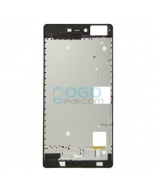 Front Housing Bezel Replacement for Huawei Ascend P8 - Black