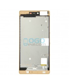 Front Housing Bezel Replacement for Huawei Ascend P8 - Gold