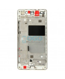 OEM Front Housing Bezel Replacement for Huawei Ascend P8 Lite - Gold