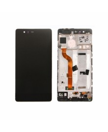 For Huawei Ascend P9 LCD & Touch Screen Assembly With Frame Replacement- Black