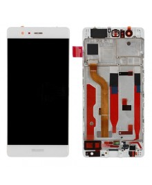 For Huawei Ascend P9 LCD & Touch Screen Assembly With Frame Replacement- White
