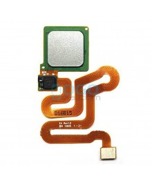 Fingerprint Sensor Flex Cable Replacement for Huawei Ascend P9 - Silver