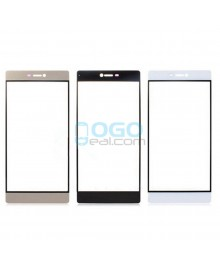 Front Outer Screen Glass Lens Replacement - for Huawei Ascend P9 - Black