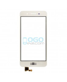 Front Outer Screen Glass Lens Replacement for Huawei Enjoy 5S - White