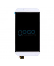 LCD & Digitizer Touch Screen Assembly Replacement for For Huawei Ascend G8 - White