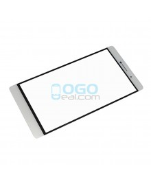 Front Outer Screen Glass Lens Replacement for Huawei Ascend P8 Max - White