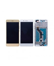 For Huawei Ascend P9 Lite LCD & Touch Screen Assembly With Frame Replacement- White