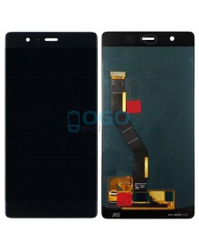 LCD & Digitizer Touch Screen Assembly Replacement for For Huawei Ascend P9 Plus - Black