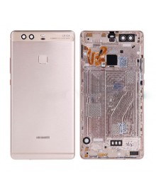 Battery Door with Fingerprint Flex Cable for Huawei Ascend P9 Plus - Gold