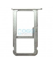 SIM/Micro SD Card Tray Replacement for Huawei Honor V8 - Silver
