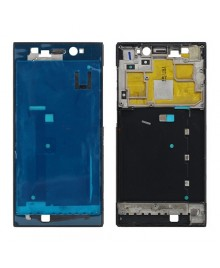 Front Housing Bezel Replacement for Xiaomi Mi 3 WCDMA Version - Black