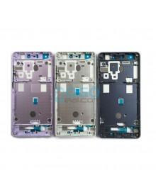 Front Housing Bezel Replacement for Xiaomi Mi 4S - Black