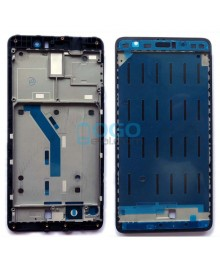 Front Housing Bezel Replacement for Xiaomi Mi 5S Plus - Black