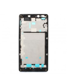 Front Housing Bezel Replacement for Xiaomi Redmi Note 3G- Black