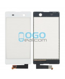 Digitizer Touch Glass Panel Replacement for Sony Xperia M5 E5603 White
