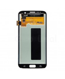 LCD and Digitizer Assembly Replacement for Samsung Galaxy S7 Edge - Silver