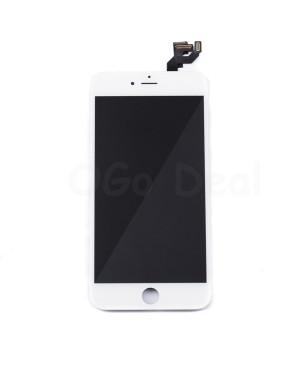 For Apple iPhone 6S Plus Digitizer and LCD Screen Assembly with Frame Replacement - White, Premium Ori