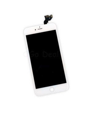 For Apple iPhone 6S Plus Digitizer and LCD Screen Assembly with Frame Replacement - White(Ori LCD self assembly)